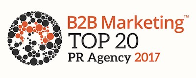 Ascendant Communications listed in UK Top 20 B2B PR agencies
